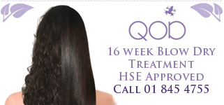 QOD 16 week blow dry treatment